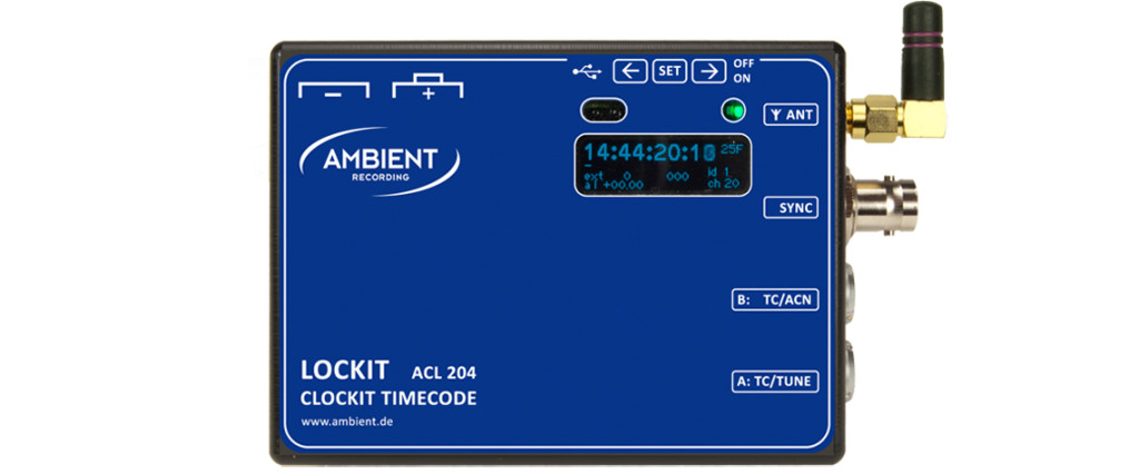 Lockit Sync Box (ACL-204), Time Code and Sync Generator